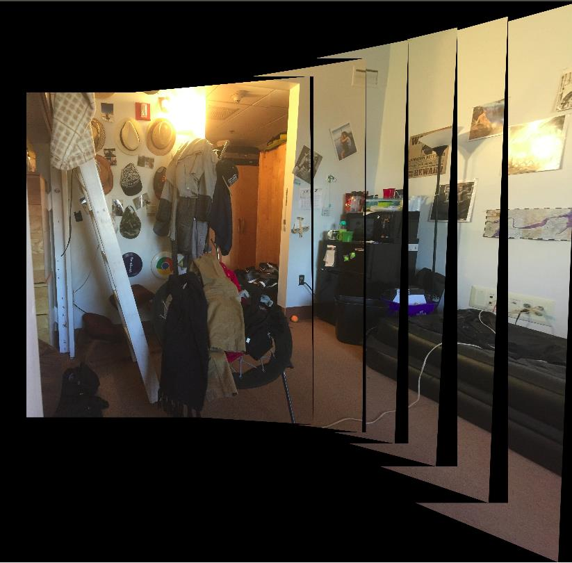 Constructing Panoramas, One Stitch at a Time